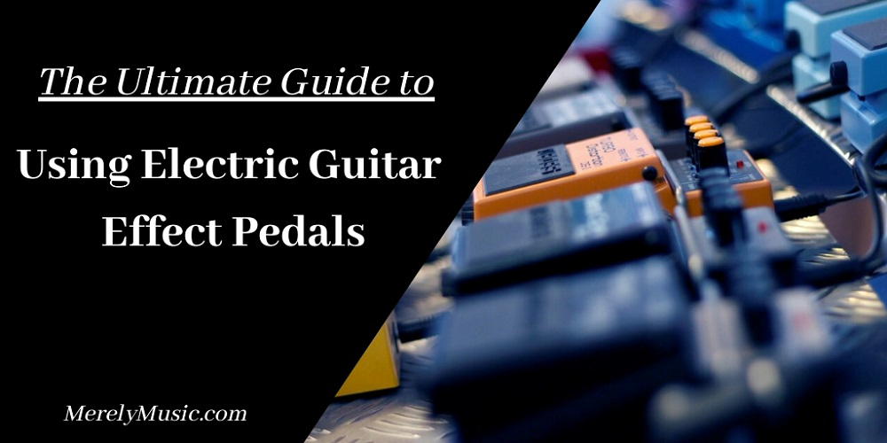 Electric Guitar Effect Pedals
