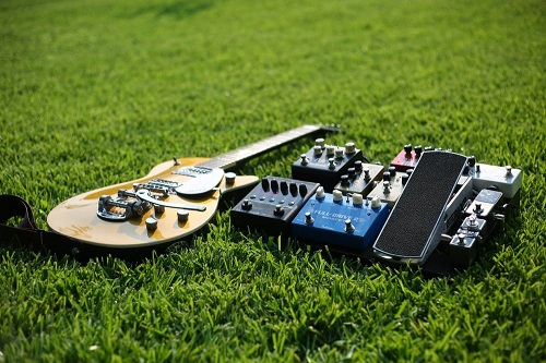 Guitar and Effect pedals