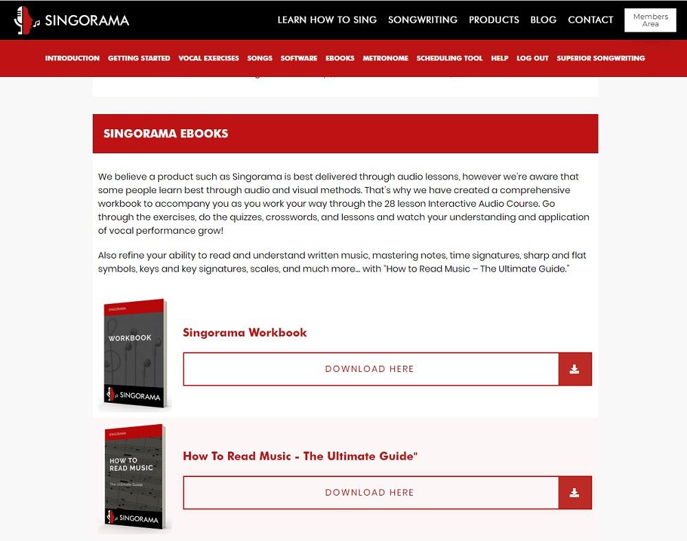singorama ebooks